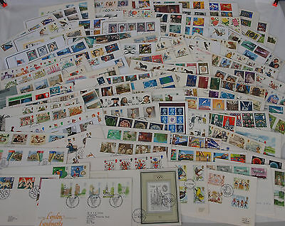 Job lot / Bundle of 100 First Day Covers , FDC , Stamps (wt442)
