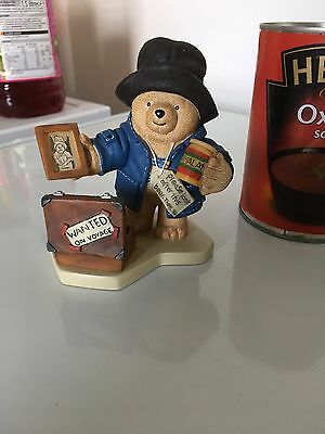 Robert Harrop PADDINGTON BEAR - Please Look After This Bear - Wanted On Voyage