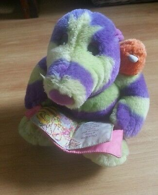 RARE vintage Fimbles talking story reading Florrie soft toy fully working