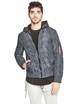 G By Guess Men's Elfman Hooded Jacket