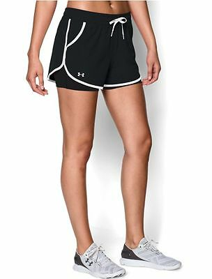 Under Armour Women's 2-in-1 Rally Multi Sport Shorts Size xs-s