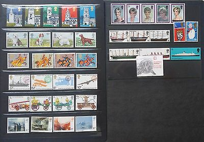 Lot of Great Britain Old Stamps Used/MNH
