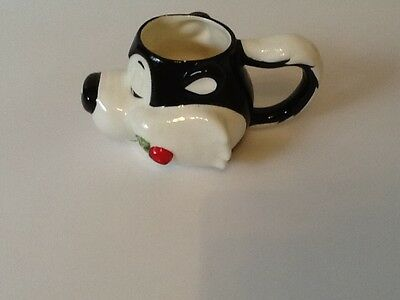 Vtg 1993 Warner Bros Applause Pepe Le Pew Collectors Coffee Mug Cup EUC