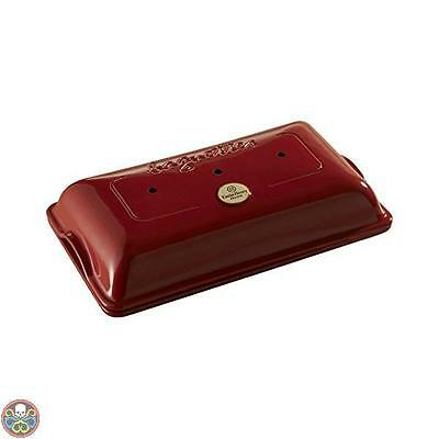 Emile Henry Tg: 39X24X12.5 Cm Marsala Eh349506 Baguettes Stampo Con Nuovo