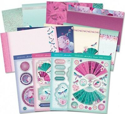 HUNKYDORY Deluxe Card Collection ~ DRAGONFLY DANCE (12 Sheets)