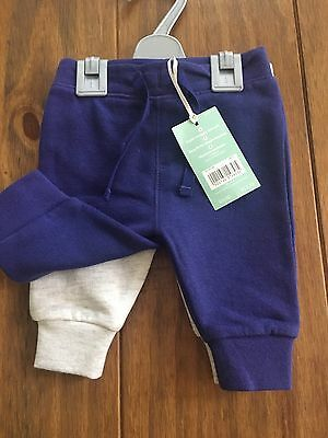 NWT 2 Pack Newborn Leggings By Mini Club