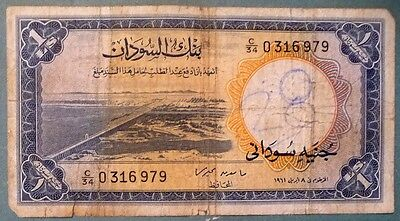 AFRICA 1 POUND ISSUED 08.04. 1961, P 8 a, RARE NOTE