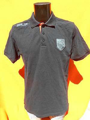 STADE TOULOUSAIN Polo BLK Official License ST Toulouse Rugby XV Black France