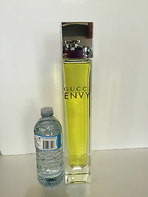 "Giant GUCCI ""Envy""  FACTICE Store Display Minimalist Bottle - 14.5"" high -"