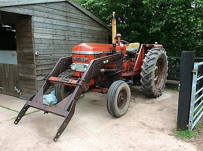 nuffield 4/65 tractor With Loader