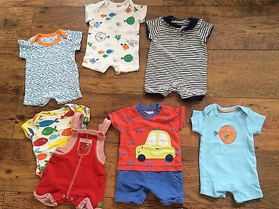 Baby Boy Clothes Up To 1 Month