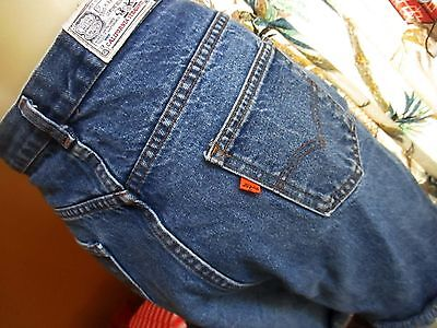"31"" Waist True Vtg 80s LEVIS CALIFORNIA womens CUTOFF DENIM SHORTS USA"