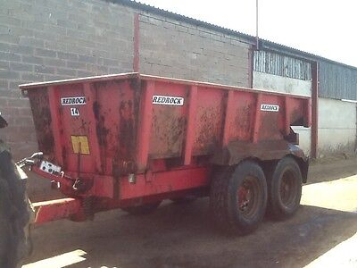 Sold redrock dump plant trailer for tractor sold sold