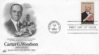 Scott #2073 - Carter G Woodson FDC Black Heritage