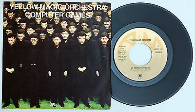 "7"" YELLOW MAGIC ORCHESTRA YMO Computer Game Spanish 7"" single 45 Spain 1980  EX+"