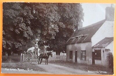 RP Postcard POSTED 1908 THE ANGEL ROOM ELM Nr WISBECH CAMBRIDGESHIRE