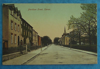LAWRENCE Postcard POSTED 1909 FARNHAM STREET CAVAN Co.CAVAN IRELAND