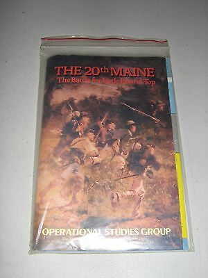 The 20th Maine: The Battle for Little Round Top