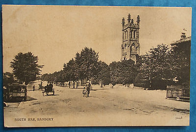 Postcard POSTED 1907 SOUTH BAR BANBURY OXFORDSHIRE