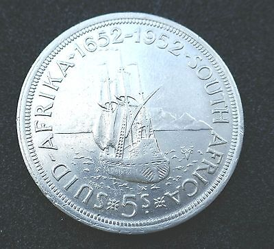 South Africa - 1952  Five Shillings - Good Extra Fine