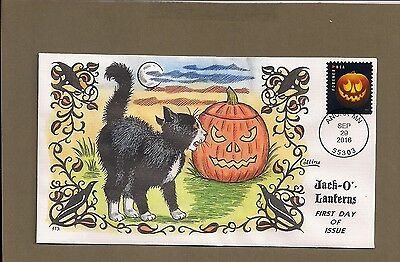 Collins H/P Jack - O - Lanterns First Day Cover