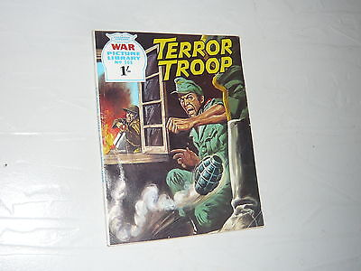 War Picture Library Comic Magazine No568 Terror Troop WW2 WWII France 1944
