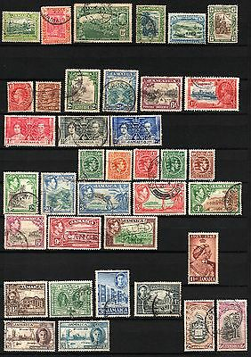 JAMAICA starter pack 37 stamp from 1921-1952 (lot 9)
