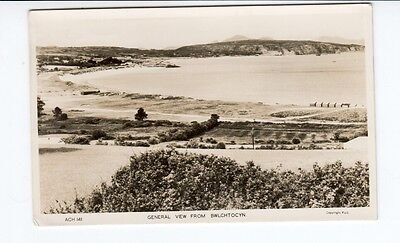 Postcard. General View from Bwlchtocyn. Abersoch. Real Photo.