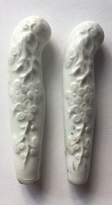 Antique 18th Century Chelsea Porcelain Handles C1755-60