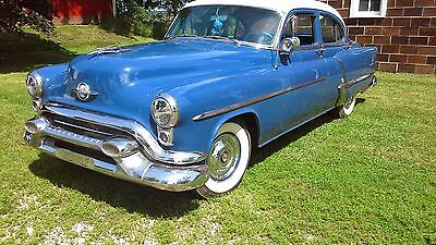 1953 Oldsmobile Eighty-Eight  Restored Olds Super 88 hydromatic complete body off restoration finished 1992