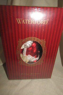 HTF New/ SEALED Waterford Heirlooms Break Time for Santa Ornament 130823 Limited