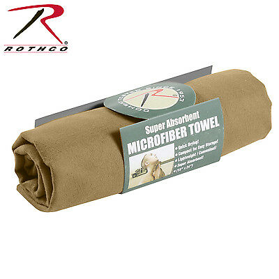 US MILITARY Army ACU Outdoor Camping Travel TOWEL Handtuch Coyote brown