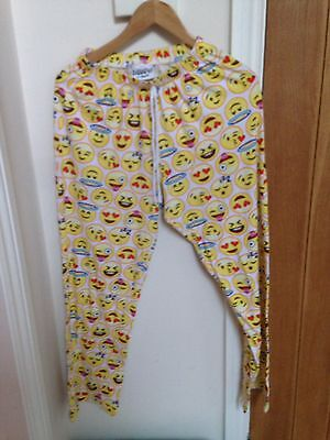 Smiley Faces  Small Uk 8:10  Leisure Bottoms Ladies