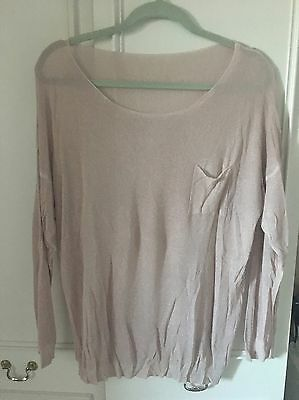 Fine Knit Jumper Size 10-12