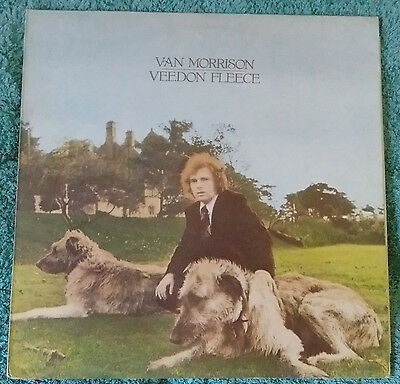 VAN MORRISON VEEDON FLEECE LP UK ORIGINAL 1st PRESS VINYL WB K56068.A1/B1