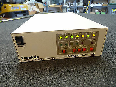 Eventide Cloverleaf Model 301 IEEE-488 Multiplexer 4 Port, Option 256k