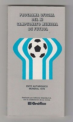 Official and Original Complete PRG   World Cup ARGENTINA 1978  !!  EXTREM RARE