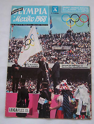 Orig.PRG / Guide   Olympic Summer Games MEXICO 1968  // Edition A  !!  VERY RARE