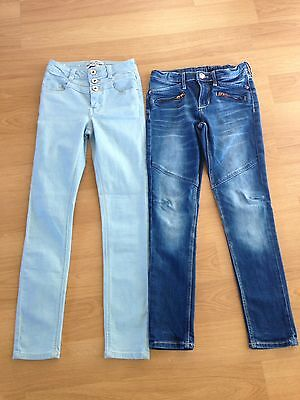 Girls Skinny Jeans Age 9-10 (140cm) New Look H&M