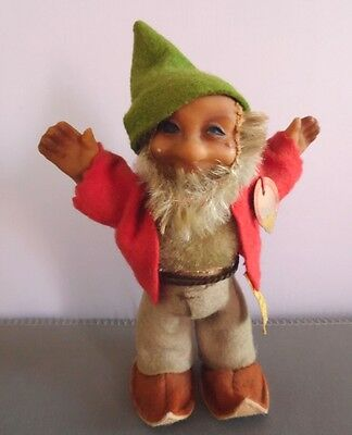 Old Steiff Pucki Gnome Dwarf Doll With Tags 7670/13
