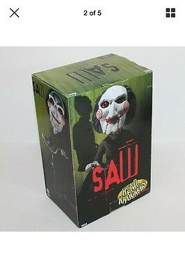 "NEW Neca Cult Classic Horror Saw 8"" Billy Bobble Head Knocker Figure Statue"