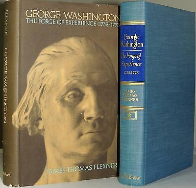 GEORGE WASHINGTON: The Forge of Experience 1732-1775 J.T. Flexner 1965 HC 390pp