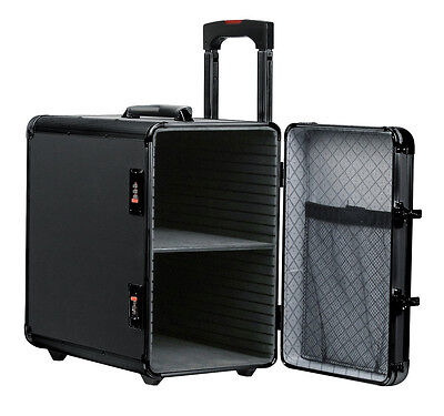 Black Aluminum Pro Carrying Jewelry Case