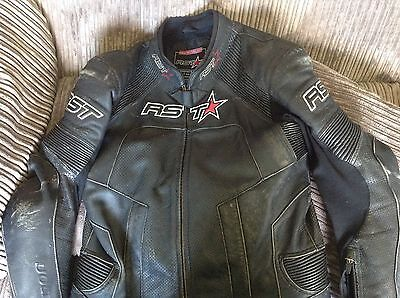 RST 1 piece motorcycle suit uk44