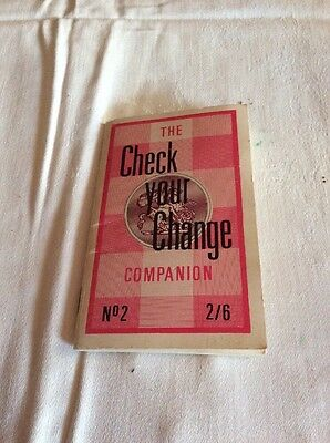 Check Your Change Book