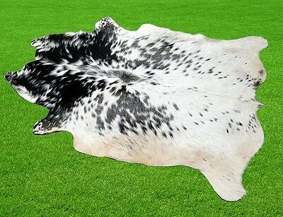 """New Cowhide Rugs Area Cow Skin Leather  (38""""x 48"""") Cow hide LWP-1455"""