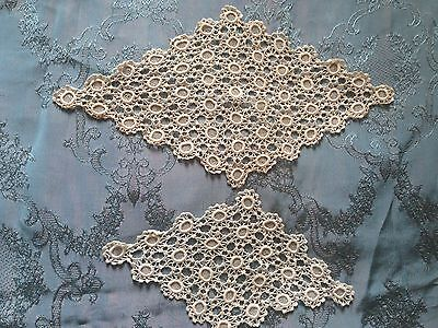 Two Beautiful Vintage Handmade Doilies