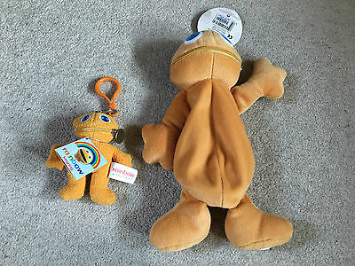 Vintage Zippy and George plush figures from Rainbow - brand new