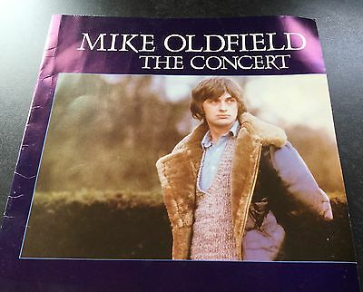 Mike Oldfield The Concert Tour Programme 1980