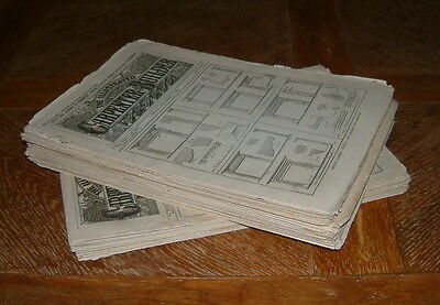 THE ILLUSTRATED CARPENTER & BUILDERS NEWSPAPER (Unique Collection)
